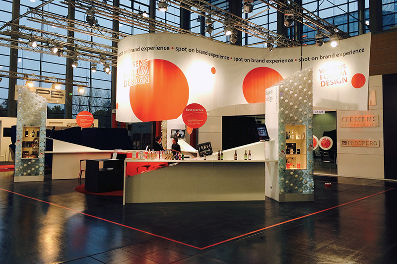 Messestand BayernDesign BrauBeviale 2014