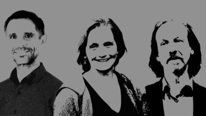 Die bleibende, alte und neue Geschäftsführung bei Impuls-Design: Peter Zeiss - Annette Hasselmann - Oliver Gies